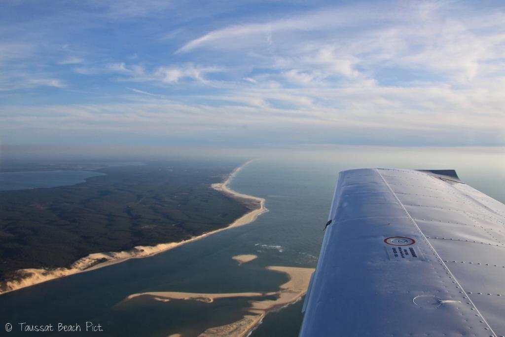 Les passes bassin d'arcachon banc d'arguin cap ferret dune du pyla photographie aérienne