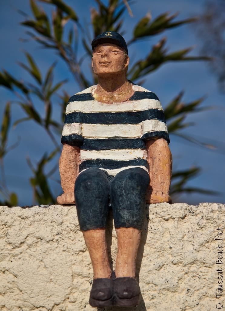 bob le arin figurine statue vieux