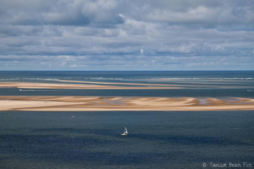 banc d'arguin bassin d'arcachon, dune du pyla, les passes, photo aérienne bassin arcachon