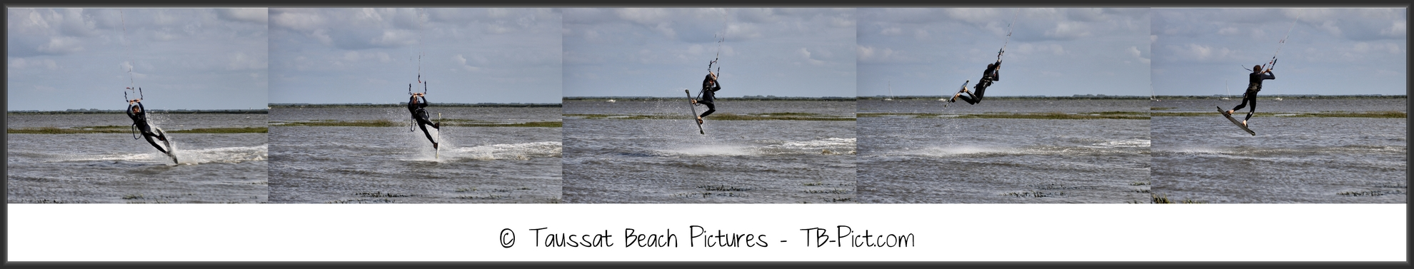 kitesurf back roll back loop rafale séquence saut jump transition