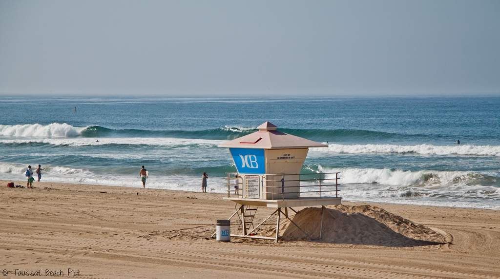 Huntington Beach los angeles california surf palge