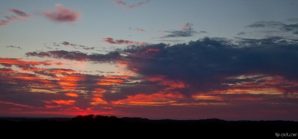 lever de soleil dune du pyla