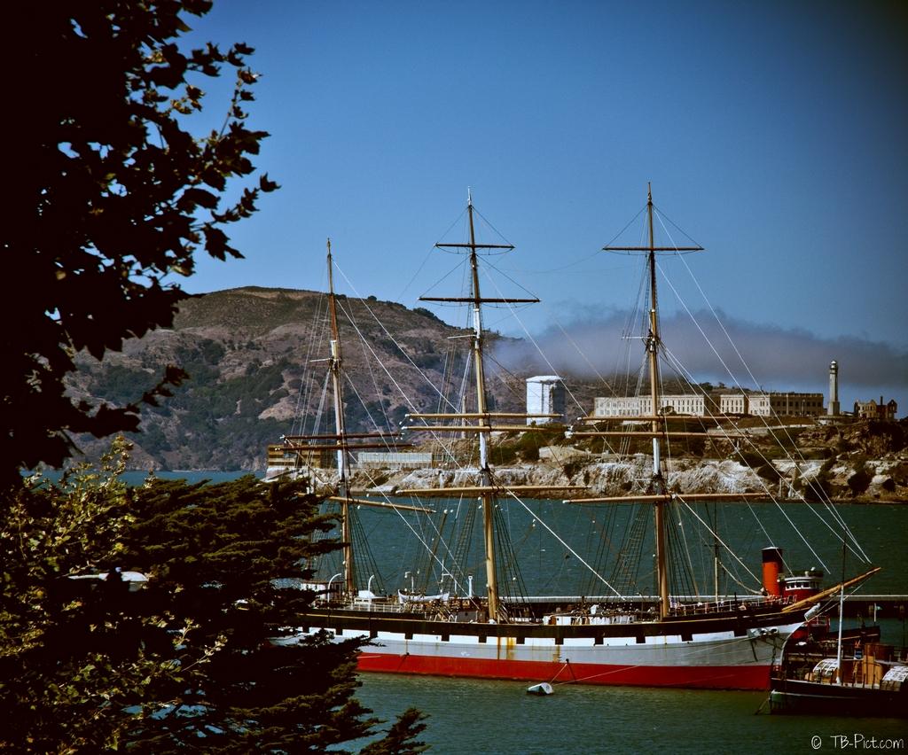 vieux grément san francisco alcatraz