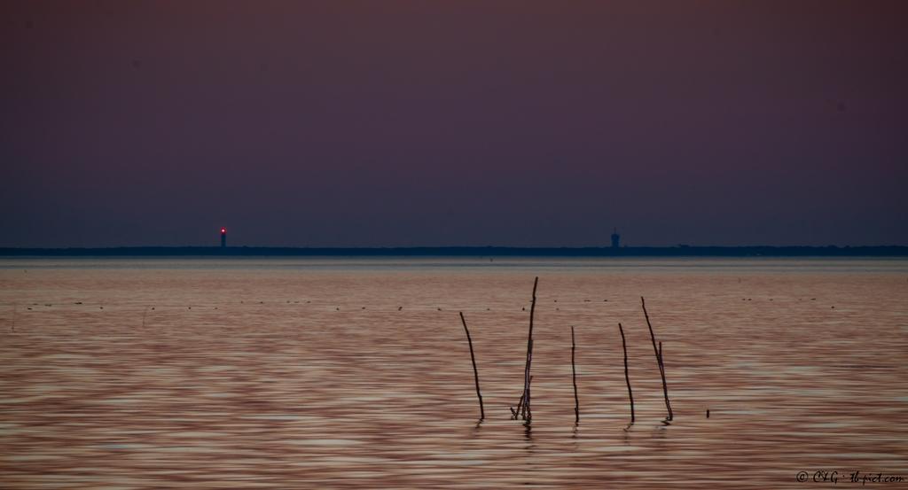 nightfall bassin d'arcachon