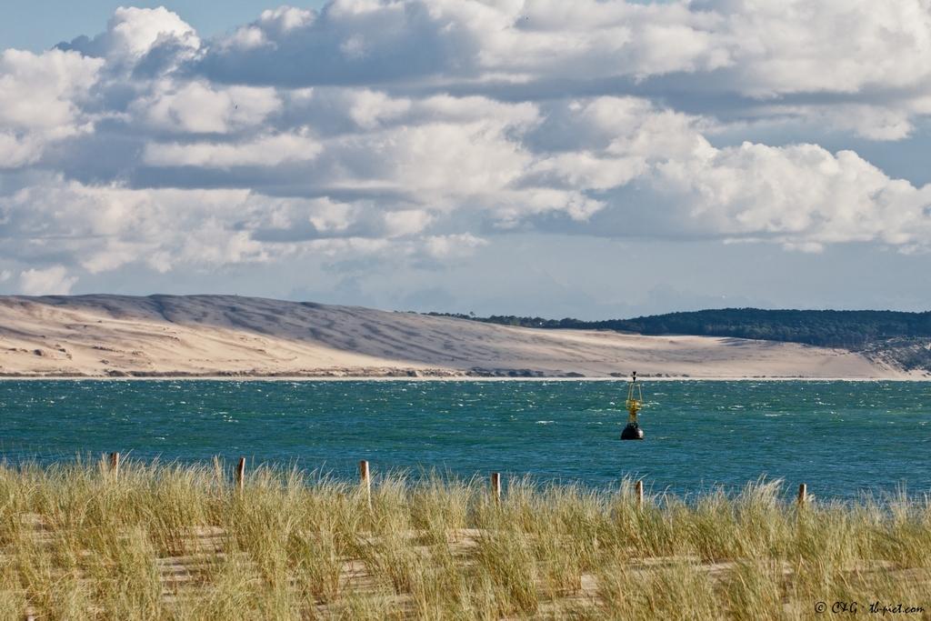 cap ferret, dune du pyla, pointe, bassin d'arcachon, les passes