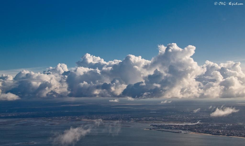Sud Bassin vu du ciel