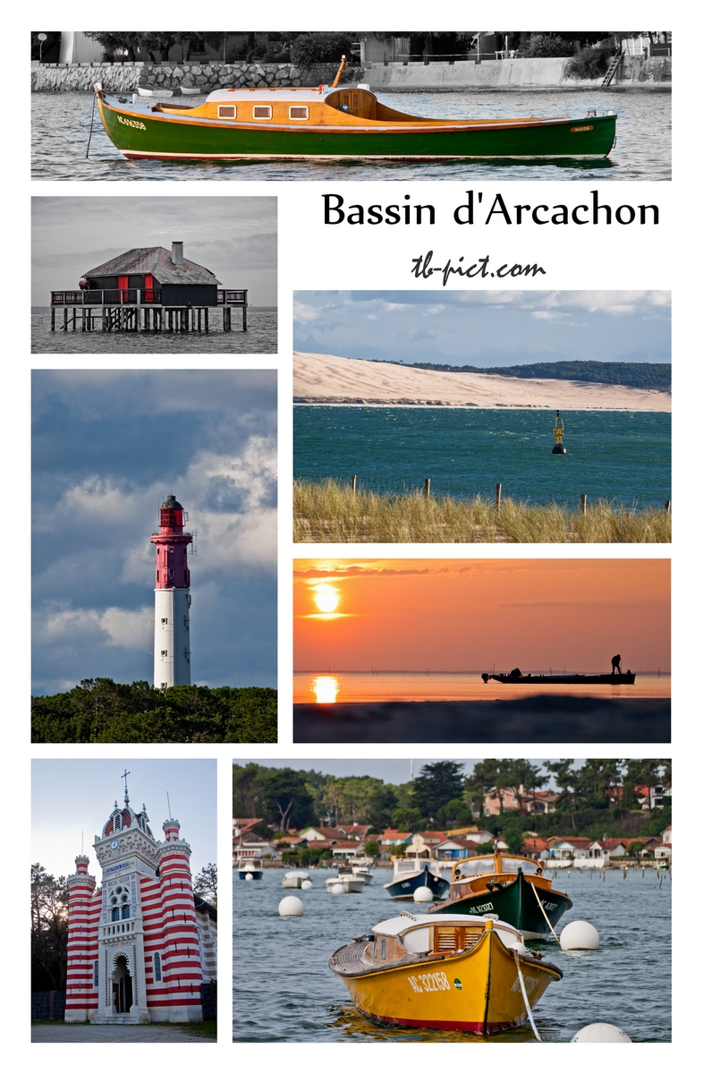 photos bassin d'arcachon