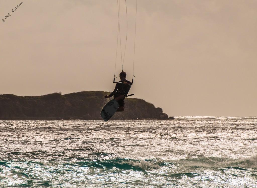 kitesurf saint martin orient bay