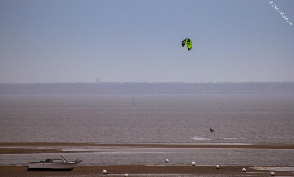 kitesurf bassin d'arcachon