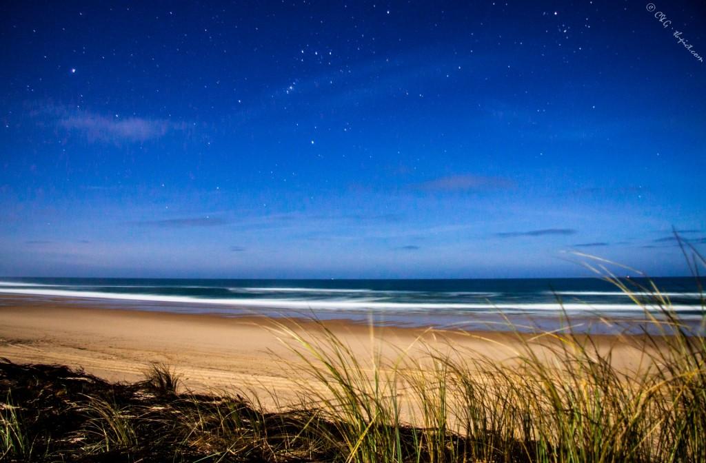 pleine lune plage cap ferret